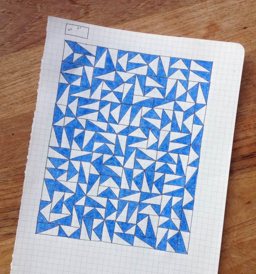 Geometriquilt: Sunday Sketch #1
