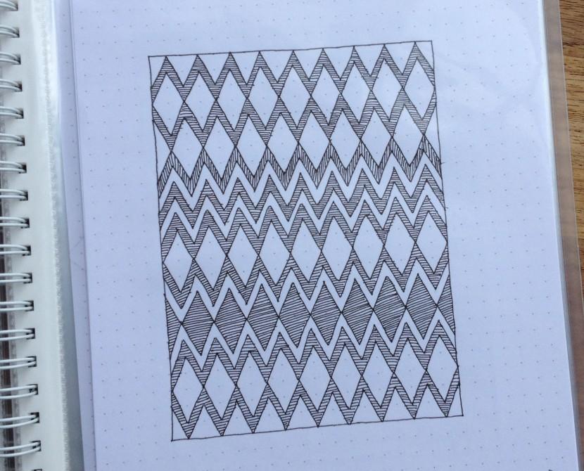 Geometriquilt: Sunday Sketch #3