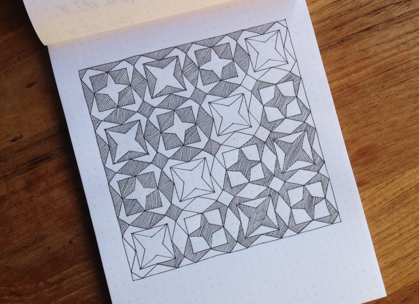 Geometriquilt: Sunday Sketch #5