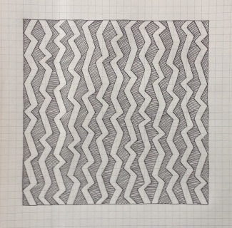Geometriquilt: Sunday sketch #4-1