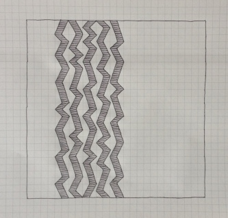 Geometriquilt: Sunday sketch #4-2