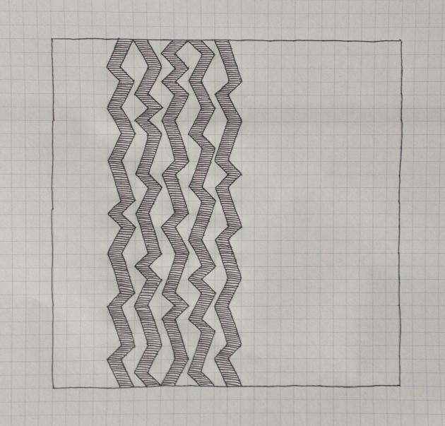 Geometriquilt: Sunday sketch #4-2
