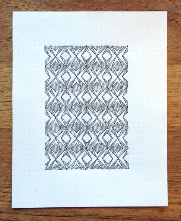 Geometriquilt: Sunday sketch #41