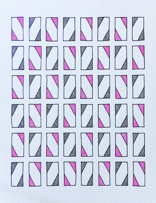Geometriquilt: Sunday sketch #65