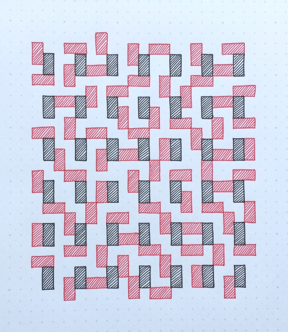 Geometriquilt: Sunday sketch #68