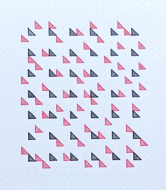 Geometriquilt: Sunday sketch #70