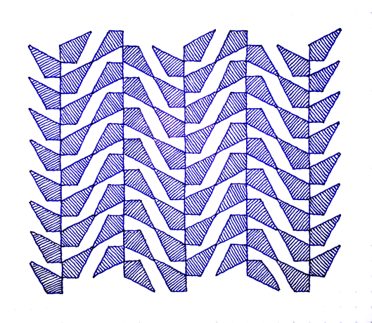 Geometriquilt: Sunday sketch #72