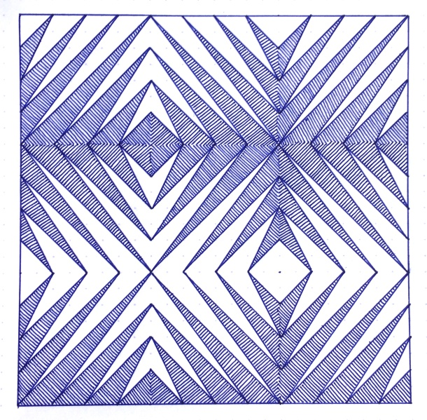 Geometriquilt: Sunday sketch #78
