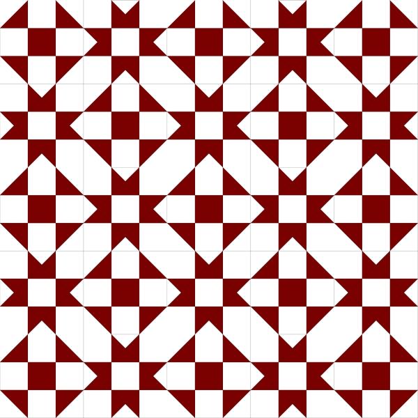 Geometriquilt: Sunday sketch #89