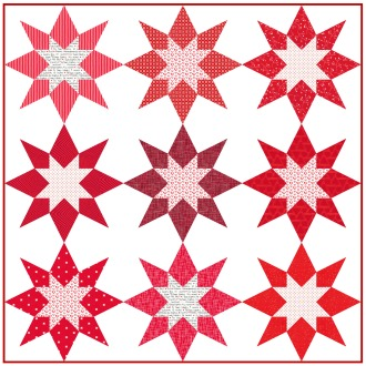 Geometriquilt: Sunday sketch #95-2