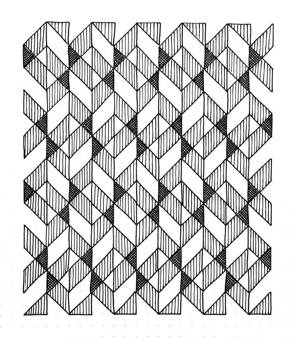Geometriquilt: Sunday sketch #99