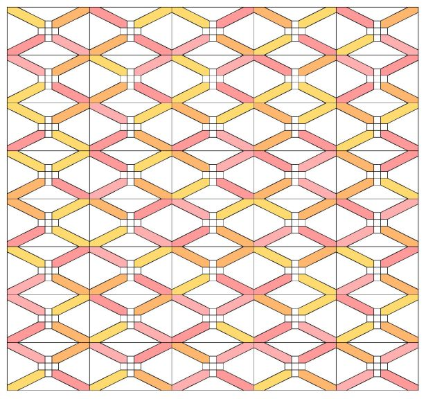 Geometriquilt: Sunday sketch #108-2