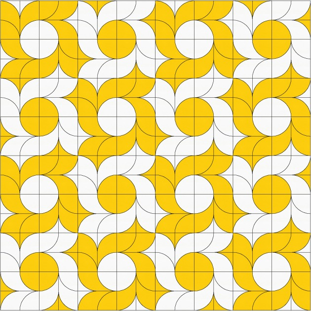 Geometriquilt: Sunday sketch #109