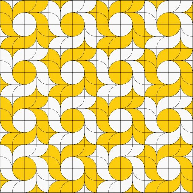 Geometriquilt: Sunday sketch #109