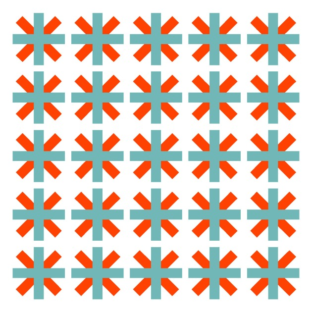 Geometriquilt: Sunday sketch #111-2
