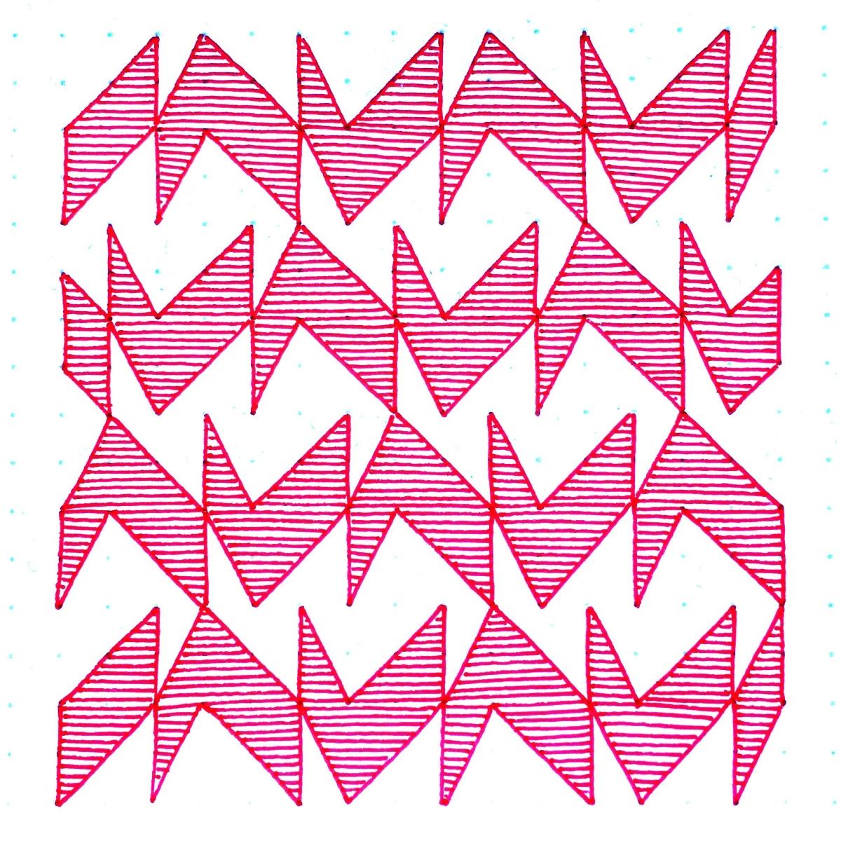 Geometriquilt: Sunday sketch #113