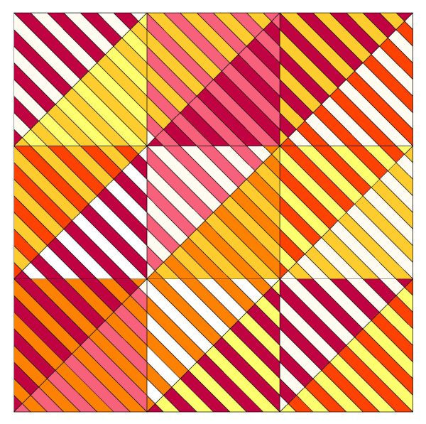 Geometriquilt: Sunday sketch #116