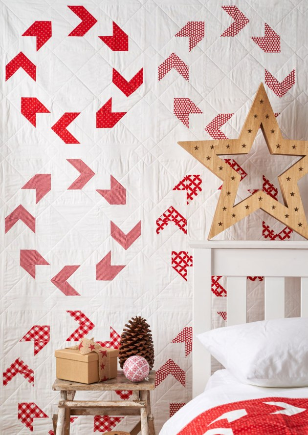 'Wreath' pattern from Geometriquilt (based on Sunday sketch #80)
