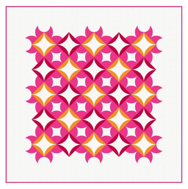 Geometriquilt: Sunday sketch #134
