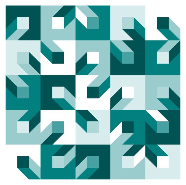 Geometriquilt: Sunday sketch #137-2