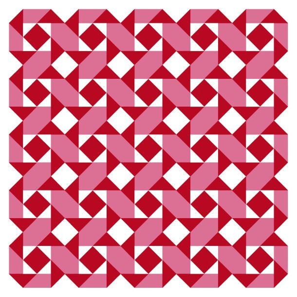 Geometriquilt: Sunday sketch #144-1