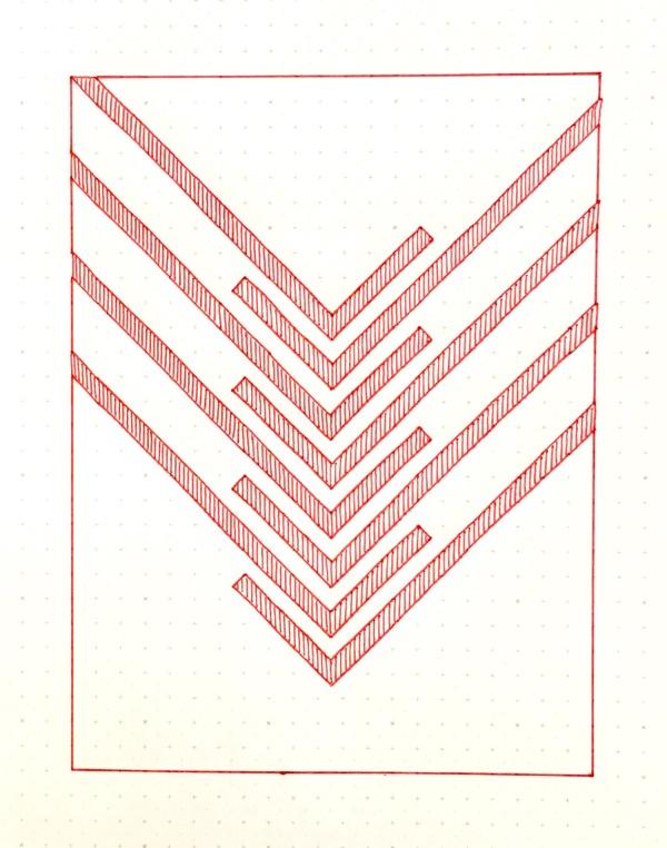 Geometriquilt: Sunday sketch #147