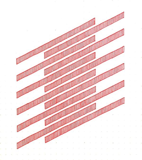 Geometriquilt: Sunday sketch #148