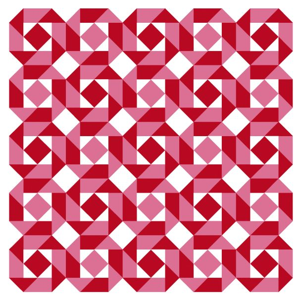 Geometriquilt: Sunday sketch #144-2