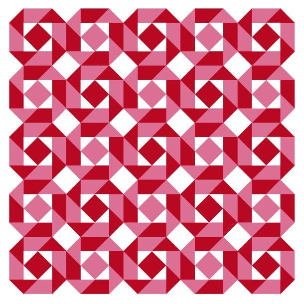 Geometriquilt: Sunday sketch #144-2