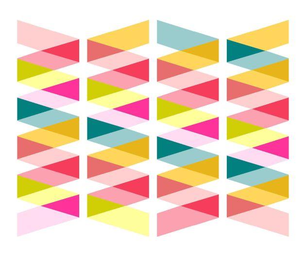Geometriquilt: Sunday sketch #146-6