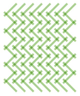 Geometriquilt: Sunday sketch #151-3