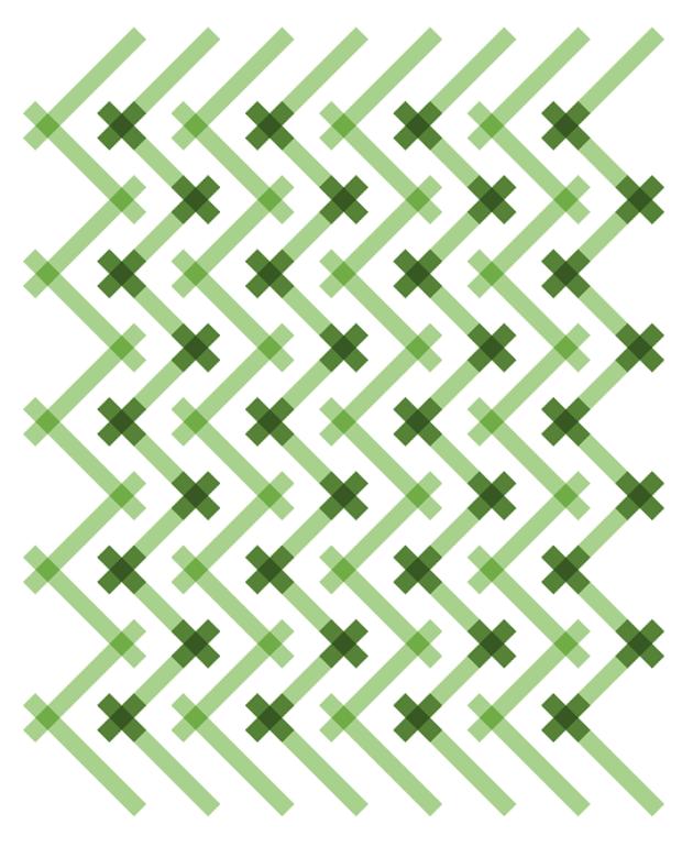 Geometriquilt: Sunday sketch #151-4