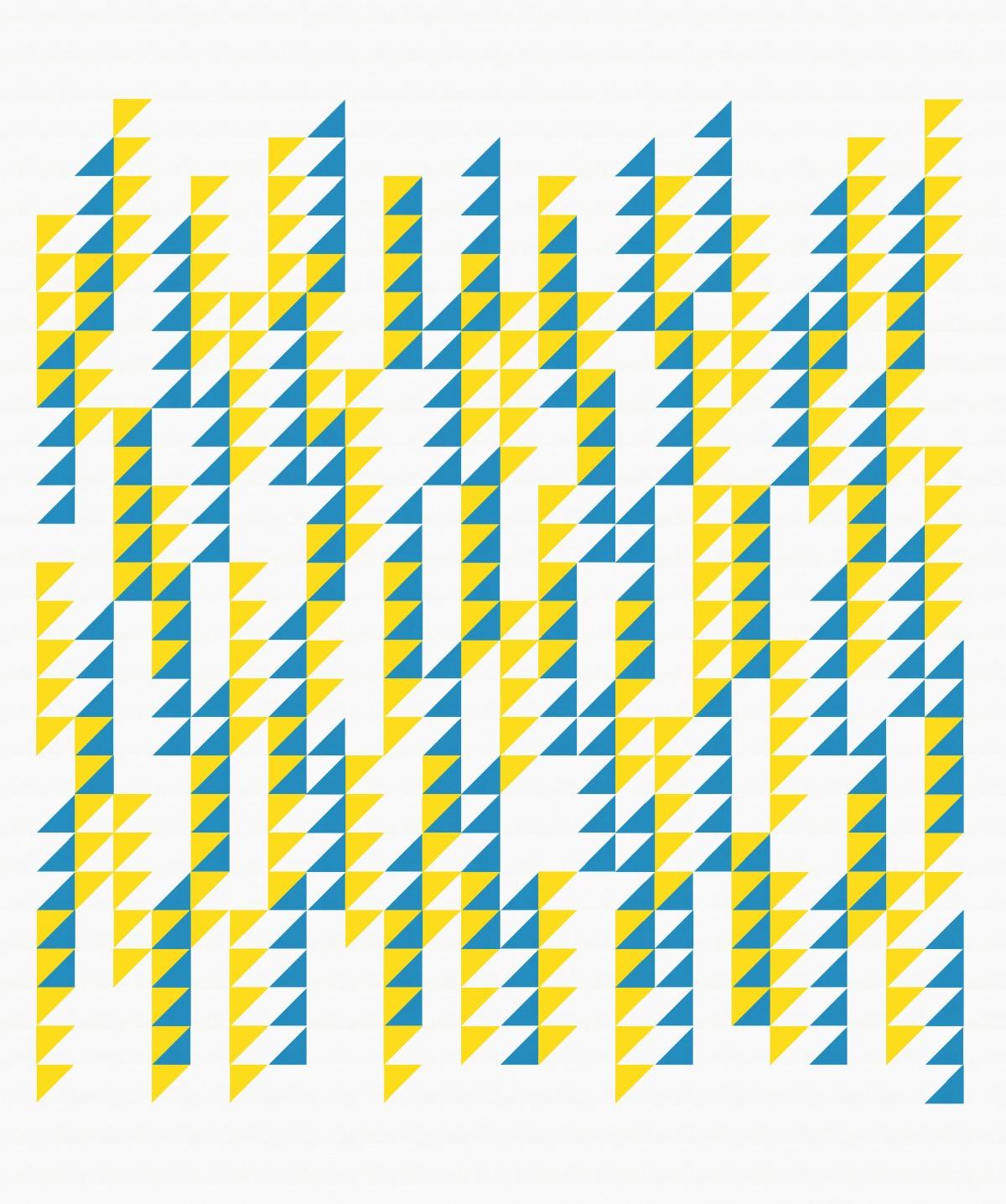 Geometriquilt: Sunday sketch #157