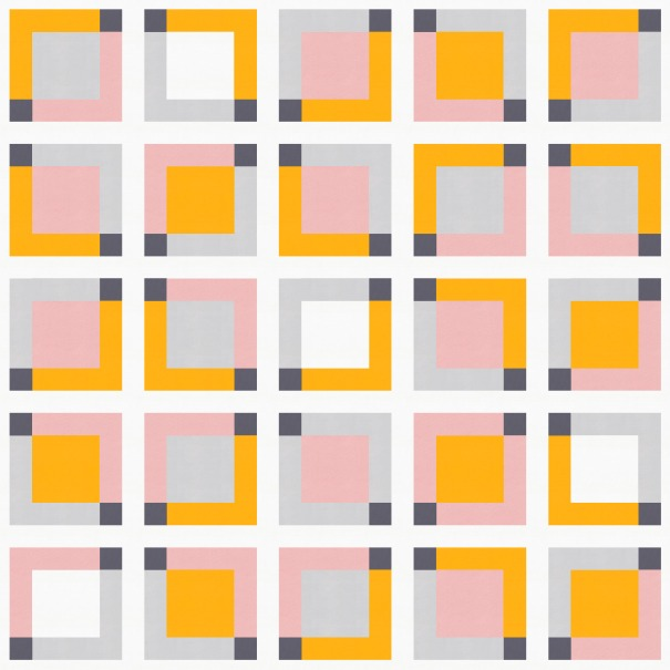 Geometriquilt: Sunday sketch #162