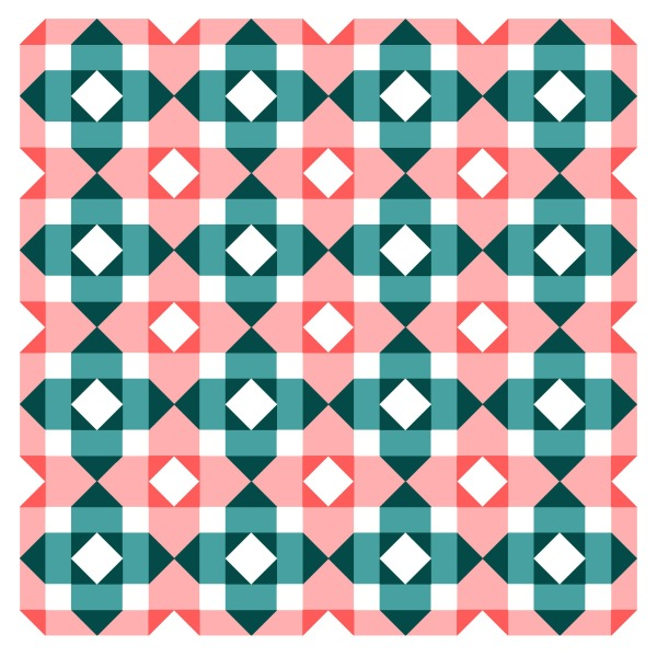 Geometriquilt: Sunday sketch #163-1