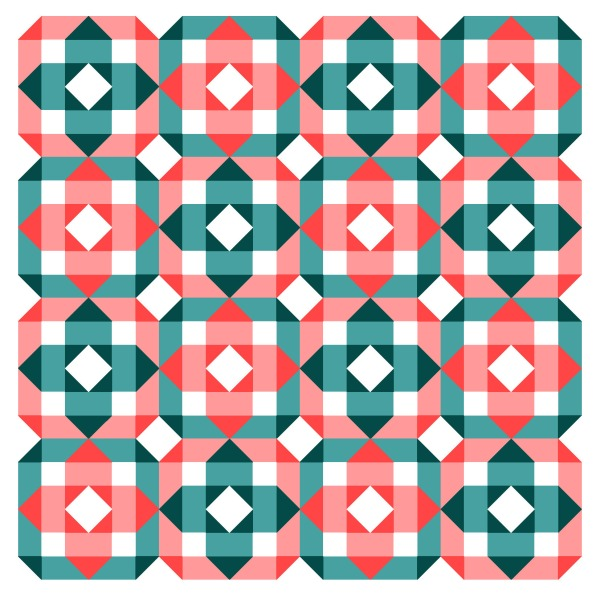 Geometriquilt: Sunday sketch #163-2