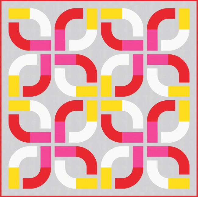 Geometriquilt: Sunday sketch #177-1