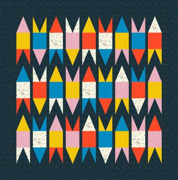 Geometriquilt: Rockets