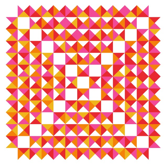 Geometriquilt: Sunday sketch #187-5