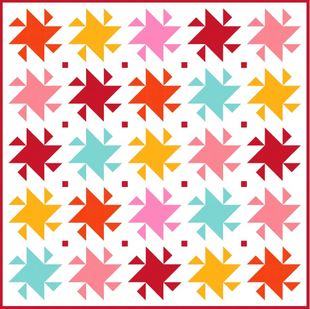 Geometriquilt: Sunday sketch #190-2