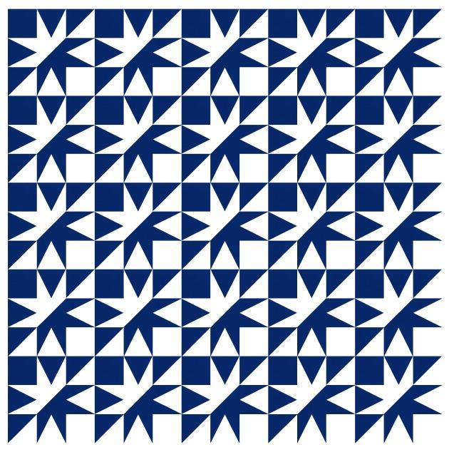 Geometriquilt: Sunday sketch #192-1