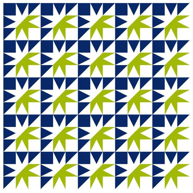 Geometriquilt: Sunday sketch #192-2