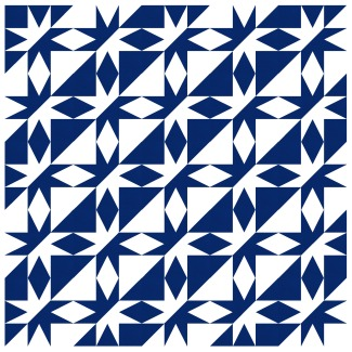 Geometriquilt: Sunday sketch #192-3