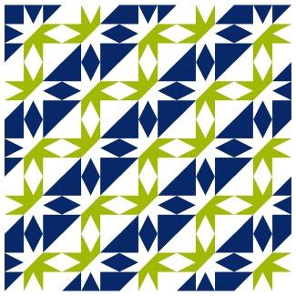 Geometriquilt: Sunday sketch #192-4