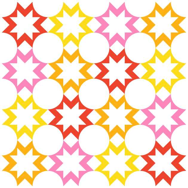 Geometriquilt: Sunday sketch #209-2