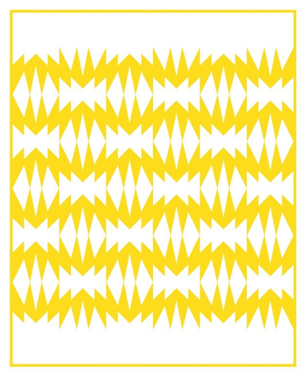 Geometriquilt: Sunday sketch #212-1