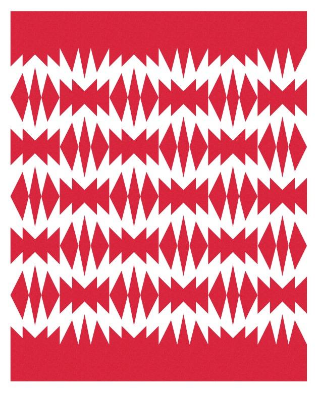 Geometriquilt: Sunday sketch #212-2