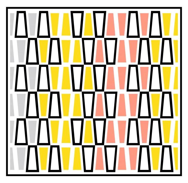 Geometriquilt: Sunday sketch #219-1