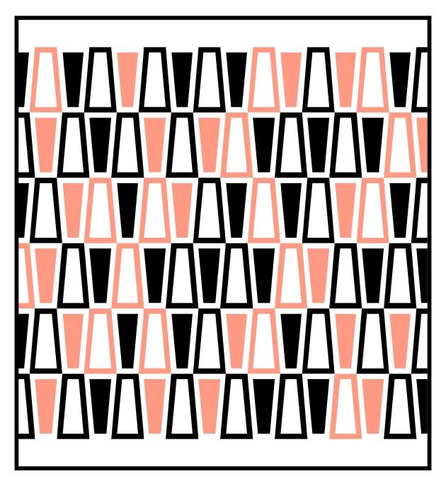 Geometriquilt: Sunday sketch #219-2