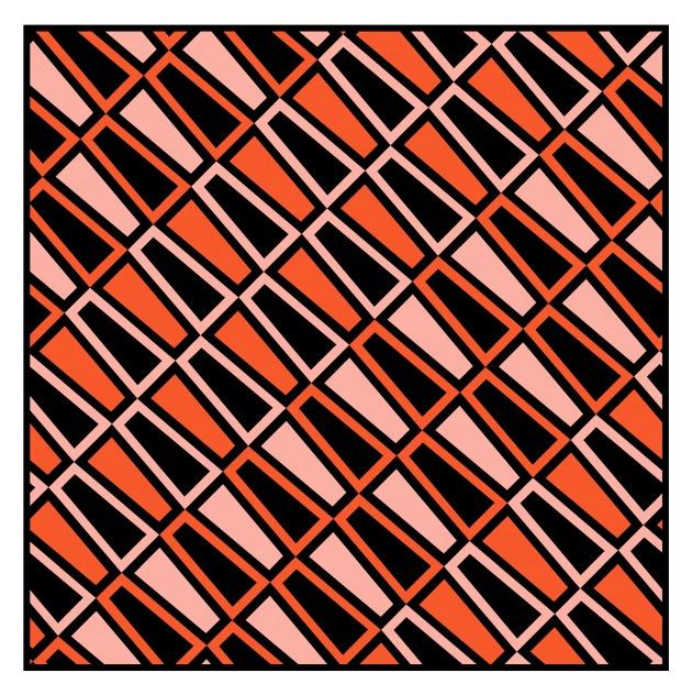 Geometriquilt: Sunday sketch #219-4